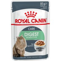 Royal Canin Digest Sensitive in Gravy - Saver Pack: 48 x 85g