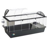 Ferplast Casita 120 Rabbit Cage - Grey: 119 x 58 x 61 cm (L x W x H)
