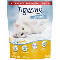 Tigerino Crystals Silicate Cat Litter Trial Pack - 3.6 litre
