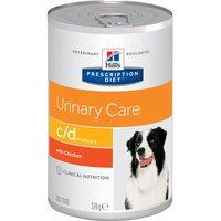 12x370g c/d Canine Hill's Prescription Diet Urinary Tract Health Nourriture pour chien