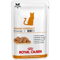 Royal Canin Vet Care Nutrition Cat - Senior Consult Stage 1 - 12 x 100g