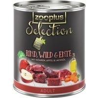 zooplus Selection Adult Beef, Venison & Duck - Saver Pack: 24 x 400g
