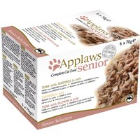 Lot mixte Applaws Senior en gelée 6 x 70 g - 3 variétés
