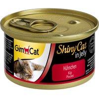 GimCat ShinyCat Jelly 6 x 70 g - Tuna & Shrimps