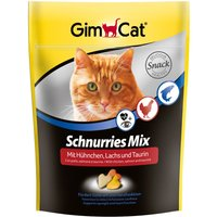 Gimpet Schnurries with Taurine, Chicken & Salmon - Saver Pack: 3 x 140g