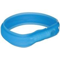 Trixie USB Flash Light Collar Long Hair - M-L: 50cm x 30mm (L x Diameter)