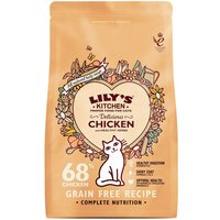 Lilys Kitchen Dry Cat Food Economy Packs 2 x 800g - Curious Kitten