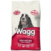 Wagg Complete Beef & Veg - 12kg