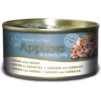 Applaws Cat Food in Jelly - Grain-Free 70g - Mixed Pack: Jelly Selection 12 x 70g