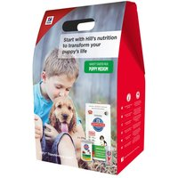 Hills Science Plan Medium Puppy Starter Kit - Medium Puppy Starter Kit: 1kg + (2 x 370g)
