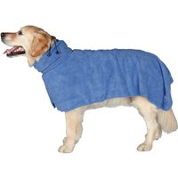 Trixie Bathrobe for Dogs - M: approx. 50cm back length