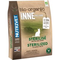 Nutrivet Inne Organic Sterilised Dry Cat Food - Economy Pack: 2 x 6kg