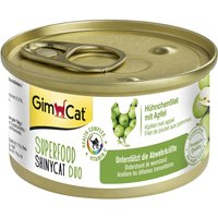 GimCat Superfood ShinyCat Duo 6 x 70g - Chicken Fillet with Carrots
