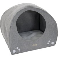 Dog Igloo - Grey - 95 x 76 x 79 cm (L x W x H)
