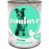 zoolove Three Bird Casserole Wet Dog Food - 6 x 800g