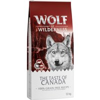 Wolf of Wilderness The Taste of Canada - 5kg