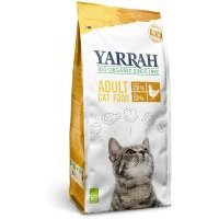 10 kg Yarrah Bio Katzenfutter zum Sonderpreis! -  Huhn