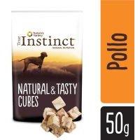 True Instinct Tasty Cubes snacks para perros  - Pollo (3 x 50 g) - Pack Ahorro