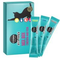 Cosma Jelly Snack 8 x 14 g - Pack mixto - 8 x 14 g