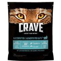 Crave Katze Trocken Adult mit Lachs & Weißfisch  - 750 g