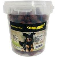 Caniland salchichas de vacuno con aroma ahumado snacks para perros - 6 x 500 g - Pack Ahorro