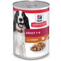 Hill's Adult Science Plan latas para perros - Pollo (24x370g) - Pack Ahorro