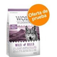 Wolf of Wilderness pienso para perros - Oferta de prueba - Fiery Volcanoes - 300 g (Elements, con cordero)