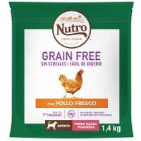 Nutro Grain Free Adult Small Pollo para perros - 2 x 7 kg - Pack Ahorro