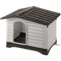 Caseta de plástico Ferplast Dogvilla para perros - M: 88 x 72 x 65 cm  (L x An x Al)