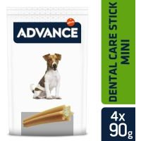 Advance Dental Care Stick Mini snacks para perros - 4 x 360 g - Pack Ahorro