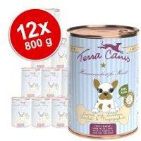 Pack Ahorro: Terra Canis cachorros 12 x 800 g - Pollo