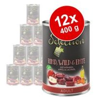 zooplus Selection 12 x 400 g - Pack Ahorro - Junior con pavo