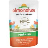 Almo Nature HFC - Atún y pollo 24 x 55 g - Pack Ahorro