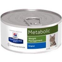 Hill's Metabolic Prescription Diet latas para gatos - 24 x 156 g