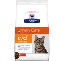 Hill's c/d con pollo Prescription Diet Urinary Care pienso para gatos - 2 x 10 kg - Pack Ahorro