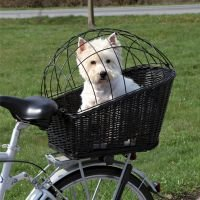 Cesta con rejilla para bicicletas Trixie - 55 x 35 x 49 cm (L x An x Al)