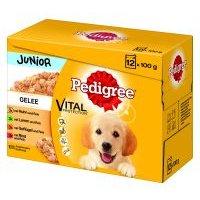 Multipack Pedigree Junior bolsitas en gelatina para perros - 96 x 100 g - Megapack Ahorro
