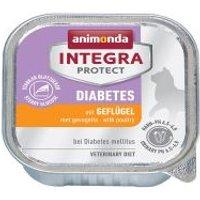 Animonda Integra Protect Adult Diabetes 6 x 100 g para gatos - Conejo
