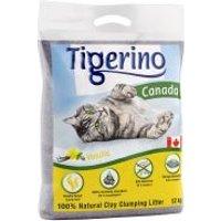 Tigerino Canada arena aglomerante con olor a vainilla - Edición limitada - 2 x 12 kg - Pack Ahorro