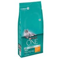 6 kg Purina One Katzenfutter + 1,4 kg Purina ONE Dual Nature gratis! - Adult Huhn & Vollkorngetreide