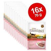 True Instinct No Grain Paté 16 x 70 g para gatos - Pack Ahorro - Pack mixto II: pollo y salmón