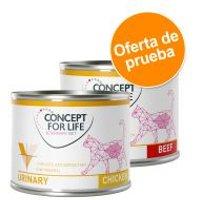 Concept for Life Urinary Veterinary Diet para gatos - Pack mixto - 12 x 200 g