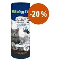 Desodorante para arena Biokat's Active Pearls sin olor ¡a precio especial!  - 700 g