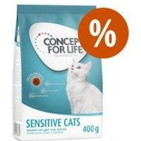 Concept for Life 400 g pienso para gatos ¡a precio especial! - Sterilised Cats