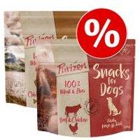 Purizon snacks para perros 2 x 100 g - Pack mixto - Vacuno y pollo / Pollo y pescado