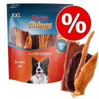 Rocco Chings XXL - Pack Ahorro  - Pack mixto: pollo, pato y vacuno 2 x 900 g