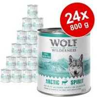 Pack Ahorro: Wolf of Wilderness 24 x 800 g - The Taste Of Canada