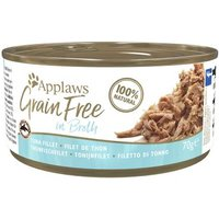 Applaws Grainfree in Broth 6 x 70 g - Hühnchenbrust