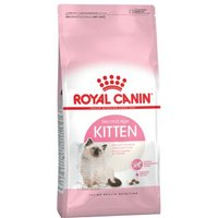Royal Canin 400 g Kitten Trockenfutter + 12 x 85 g Kitten Instinctive - Maine Coon Kitten + Instinctive in Gelee