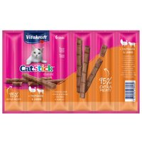 Vitakraft Cat Stick Classic - Ente & Kaninchen (24 x 6 g)
